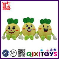 Customized fruit toys plush pineapple toy wholesale