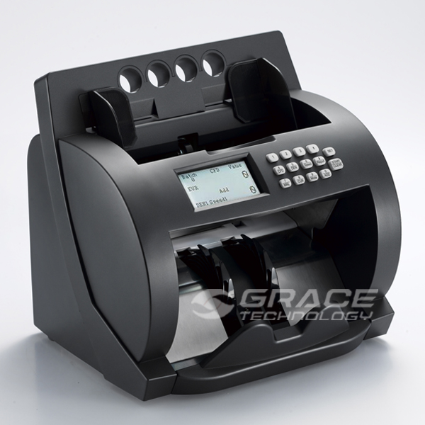 Large LCD glory banknote counter and value counting machine
