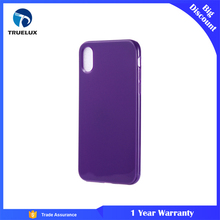2017 Manufacturer Accessory Cell Mobile Phone 3D Purple Case Cover For Iphone X