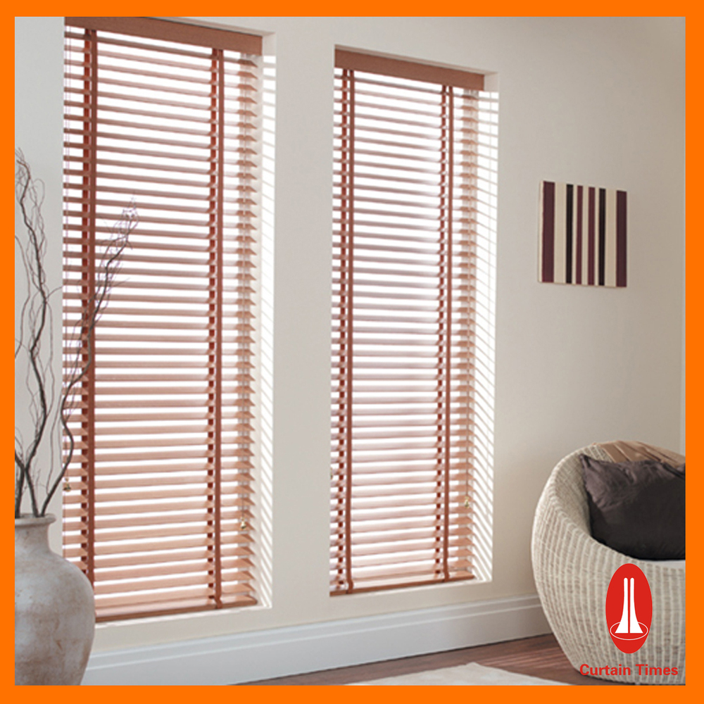 Curtain Times Wood Shutter Slats For Window Electric Motor