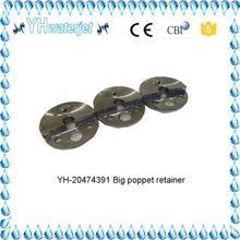 Finely processed YH20474391 big poppet retainer; water jet cutting machine parts