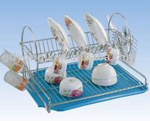 DT-63AC Chromium Dish Rack With tray