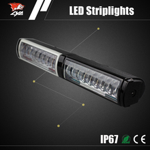 12V 80W 4800LM aurora 4x4 led light bar spot light off road light bar for cars