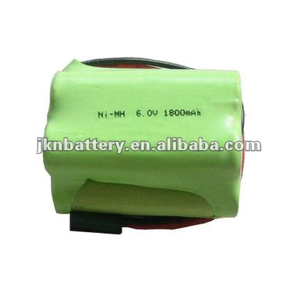 6V 1800mAh Ni-MH Rechargeable Battery pack