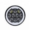 High Quality ! 5.75'' 80W RGB Original Osram Chips High Brightness High/Low Beam Headlamp for Harley Motorcycle