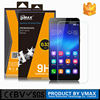 Free Sample rounded edge transparent shatterproof tempered glass screen protector for Huawei G8 Screen protector shield