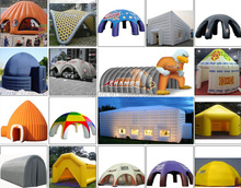 China manufacturers wholesale custom portable inflatable advertising air tent