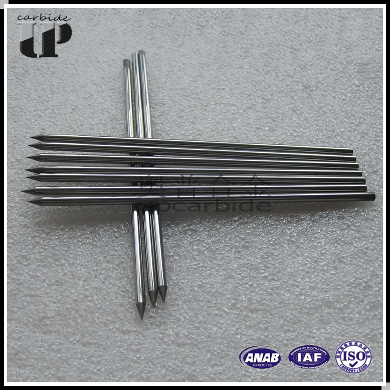 <strong>K10</strong> K20,K30 OD2.5*100mm 30 degree point tungsten <strong>carbide</strong> needles