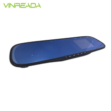 "2.8"" rearview mirror 720p camera HD car dvr"