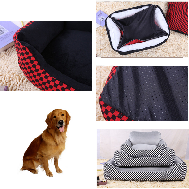 Large Elevated Canvas And Pp Cotton Lining Pet Bed Dog Bed Cat Beds For Pet Furniture