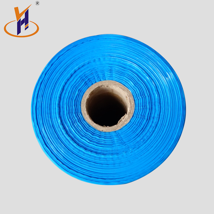 Hot Sale blue smooth waterproof hdpe film roll printed plastic wrapping alibaba supplier