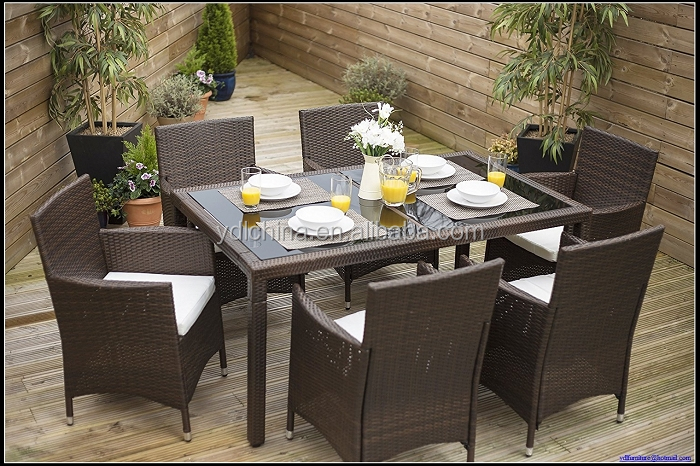 Cheap wicker rattan chairs+american style garden chair YKD-16