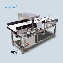 Long conveyor belt stainless steel food grade inspection food metal detectors
