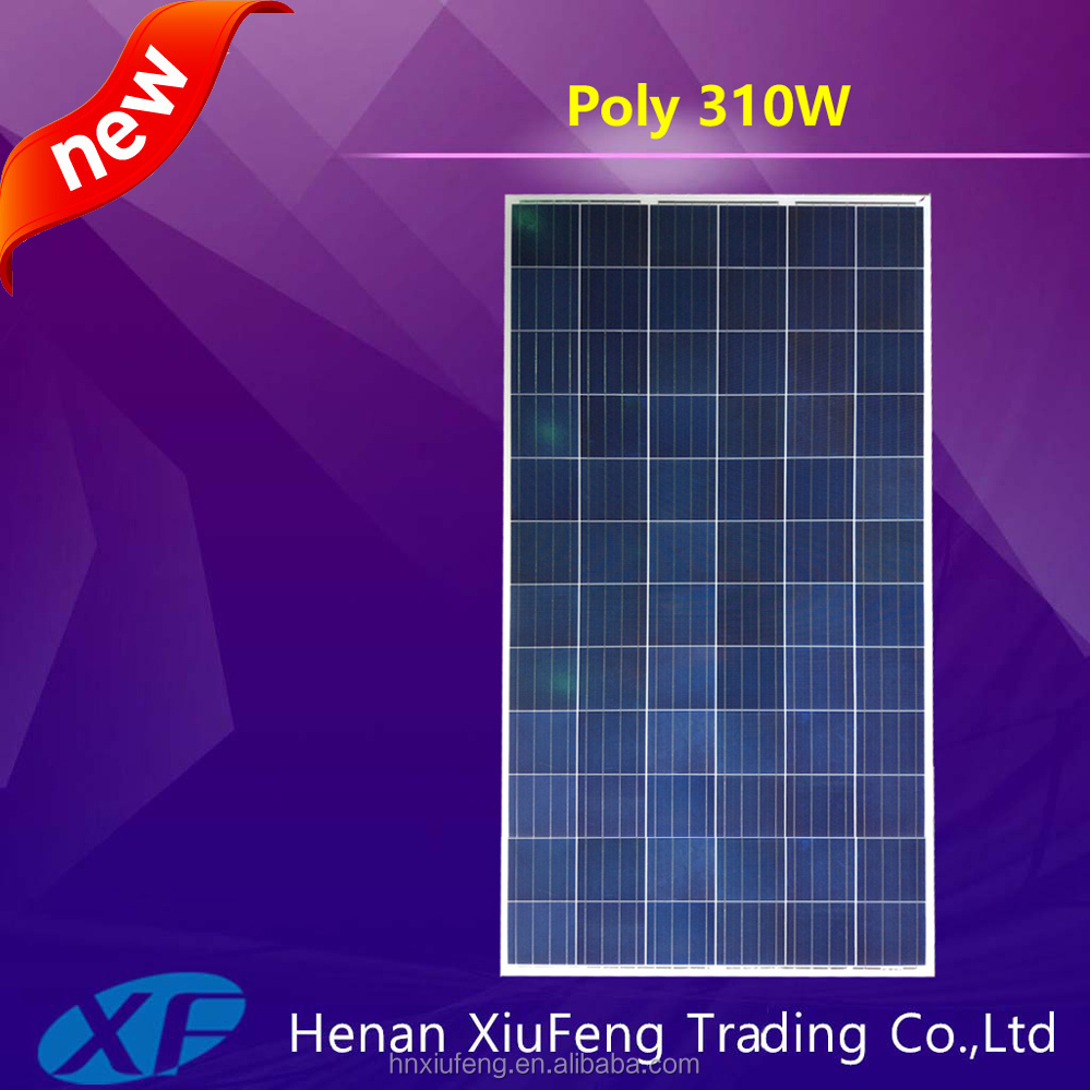 China manufacturer 0.5 kw solar panel with TUV CE certification for Afghanistan