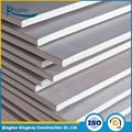 Top quality tapered edged plain waterproof /fireproof / standard gypsum board
