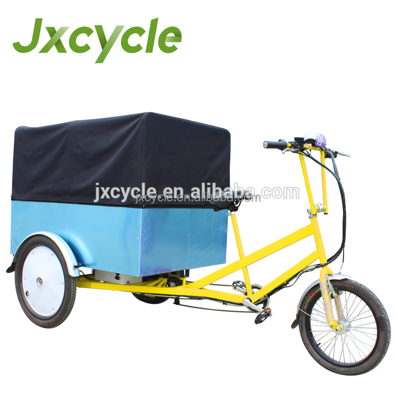 cabin cargo tricycle with cabin and box cargo tricycle with cabin