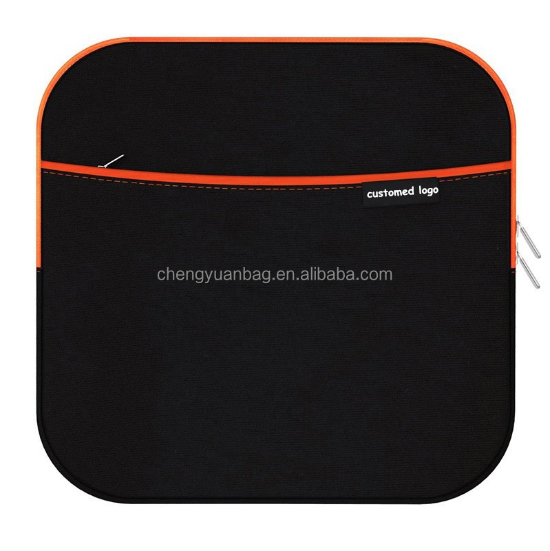 Hard Drive Neoprene Protective Storage Carrying Sleeve Case With Extra Storage Pocket