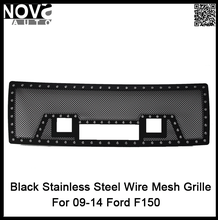 Auto Parts 2009-2014 Black 304 Stainless Steel Against Rust F-150 Grille Guard for Ford