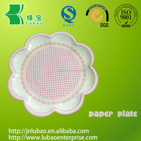 Customized & disposable paper plate or trays for candies