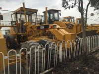 supply used motor grader 120h original road equipments good condition and good price