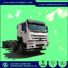 Euro 4 8*4 340HP heavy lorry truck chassis