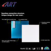 Surface Mounted LED Panel Light 2ft*2ft 40W LED Ceiling Light Concrete Ceiling