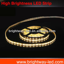 China top brand 60LED/meter smd5050 cheap price 12v led waterproof rope light 5050 dimable flexible led strip 14.4w