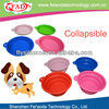 New model silicone pet travel bowls with competitive price
