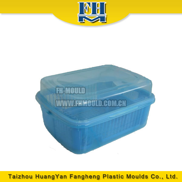 provide good quality injection plastic dish rack mould from Taizhou