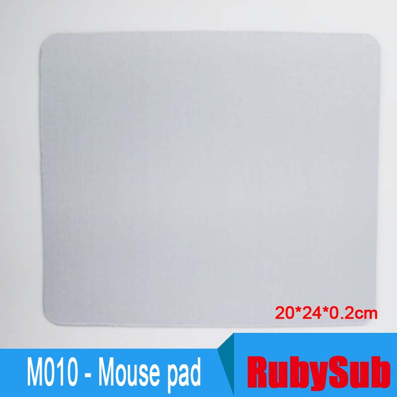 Blank Mouse Pads for Printing ,Sublimation Mouse Mats Rectangle20*24*0.2cm