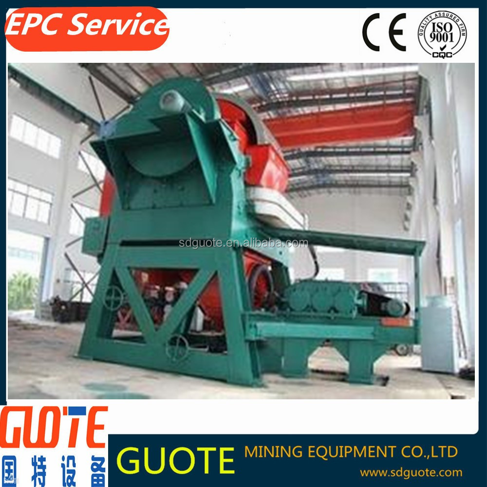 GTLH series vertical ring magnetic separator machine for quartz sand production line