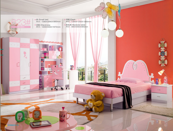 Pink Children Bedroom Furniture Set Princess Bedroom Buy