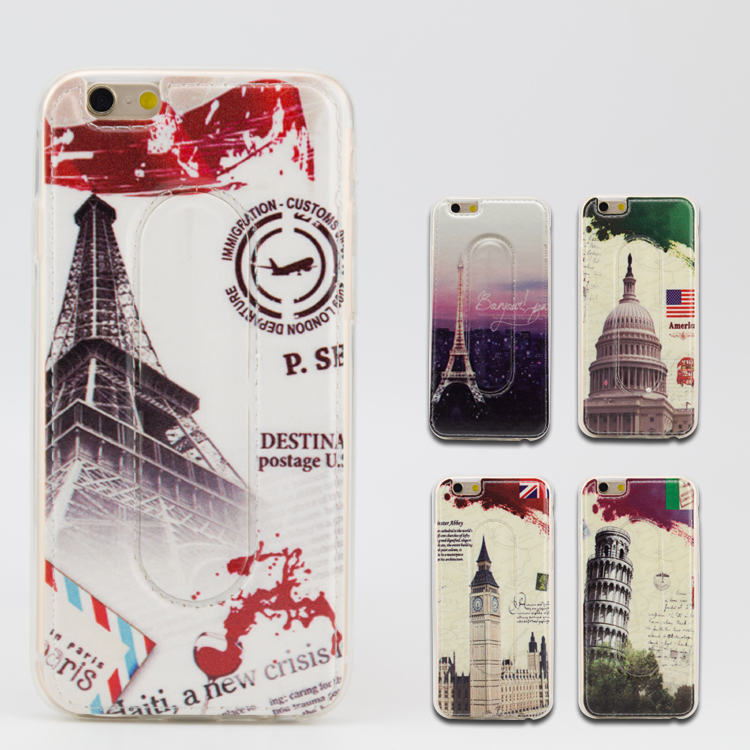 case for iphone 6 plus Custom design PU leather cell phone case