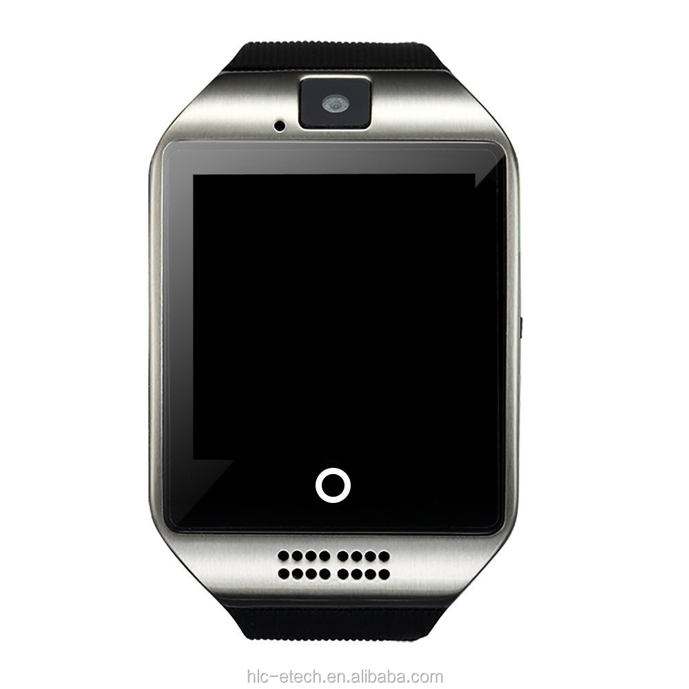 "2017 Hot Selling Q18 Smart Watch ,2G/<strong>GSM</strong>,1.54"" Curve Screen,Snyc Info,Retome Camear/Music , Smartwatch For Men"