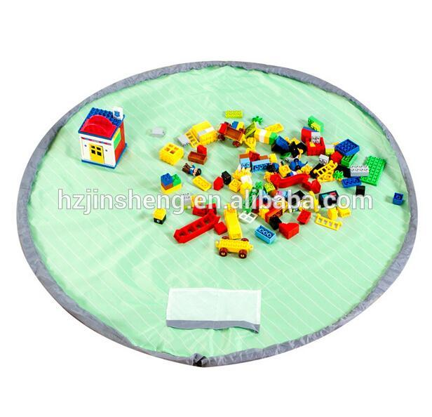 Children toy play mat with storage