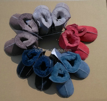 double face sheepskin boots, baby boots 20140914