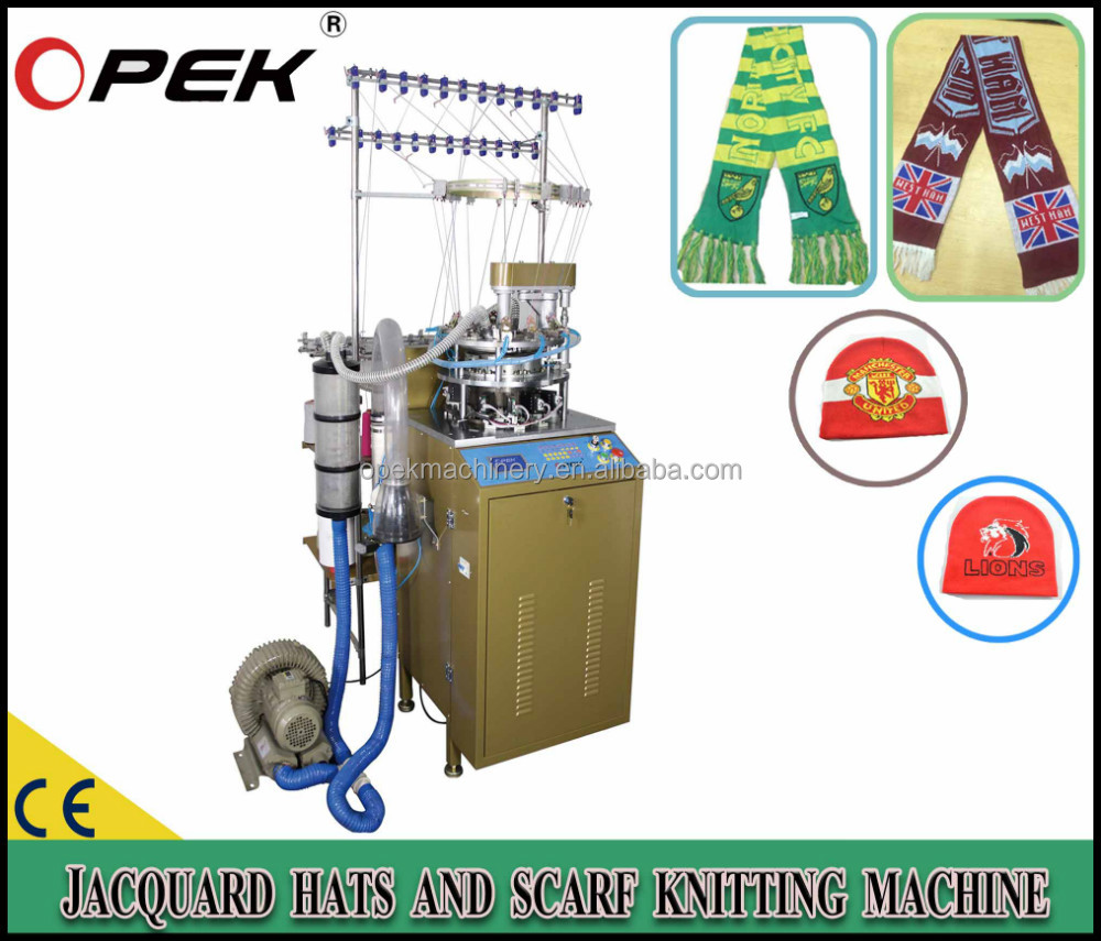 PROFESSIONAL CAPS AND SCARVES KNITTING MACHINE MANUFACTORY