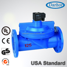 King quality flange type large water solenoid valve