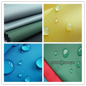 manufacturer water resistant polyester oxford fabric