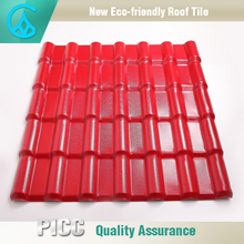 Advanced Materials Red Color Crimp Curved Warehouse Roofing Sheet