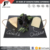 D27cm round slate stone cheese boards plate with rope handle