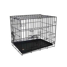 Wholesale Large outdoor iron dog cages / powder coating welded wire dog kennel / pet enclosure