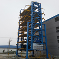Multi-floor circulating tower building type automatic rotary vertical parking system