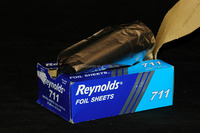 Aluminum Foil and paper in one box-household extraction