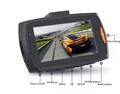 Big Promotion HD M6 2.4'' Motion Activated Loop Recording Car DVR Hot Sale
