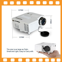 Portable Multimedia LED Projector Mini Proyector For Home Theater