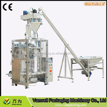 VS-520 4 side seal milk wheat powder packing machine with auger filler