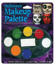 halloween face paint makeup kits,accessory party make up kit,makeup tray