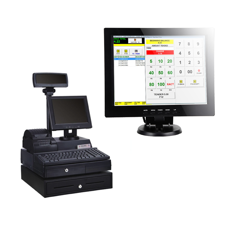 Pos 10.4 Inch LCD Monitor With 12V DC Input