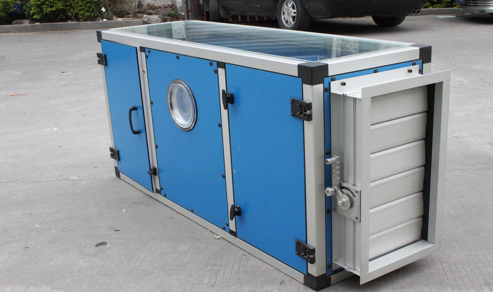 Air Handling System : Aluminum extrusion material for air handling unit body
